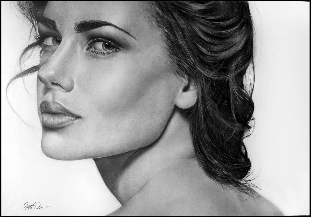 Онлайн фото в рисунок карандашом