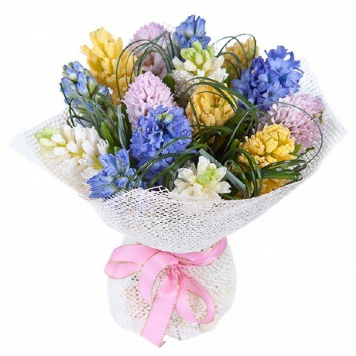 Белой, гиацинты доставка цветов