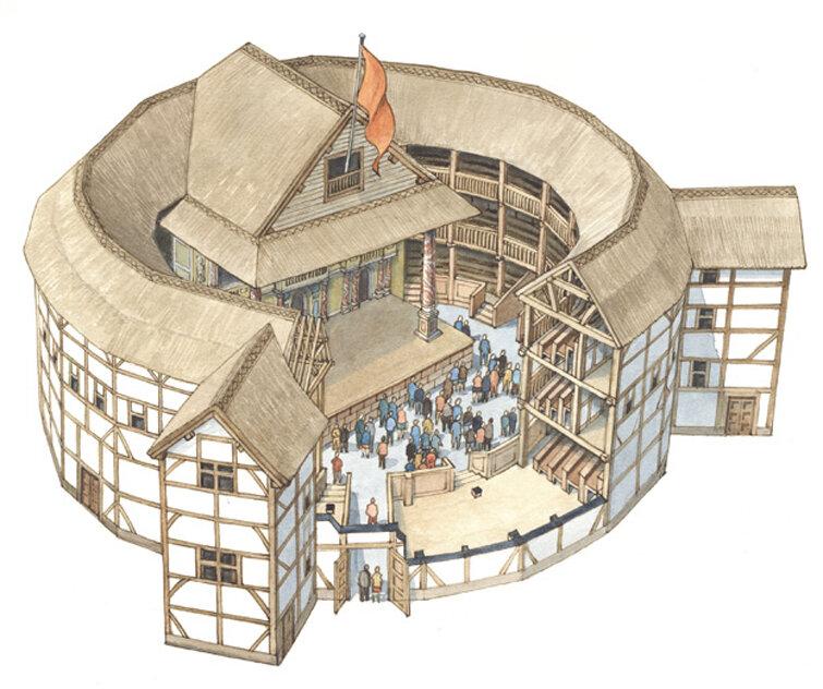 Картинки современного театра глобус
