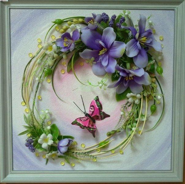 Открытки из искусственных цветов, картинки про кавказ