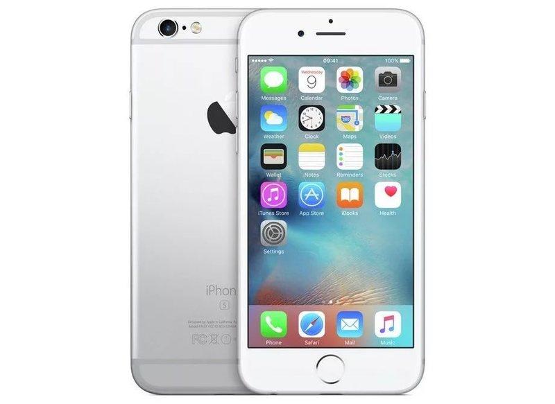 Apple iPhone 6s Silver 128GB (UK Version) Smartphone * EUR 5