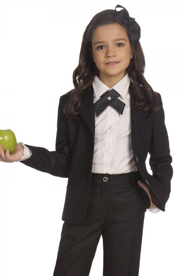 школьная форма с маленьким галстуком для девочек