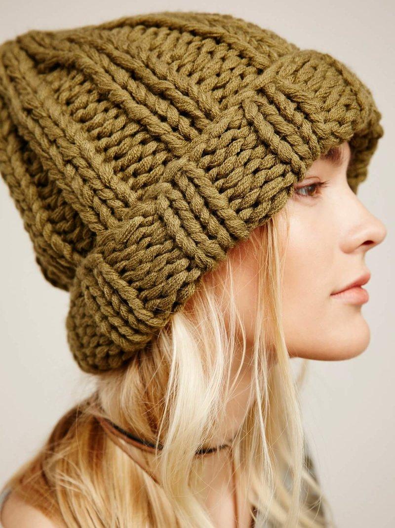 шапки вязаные 2016
