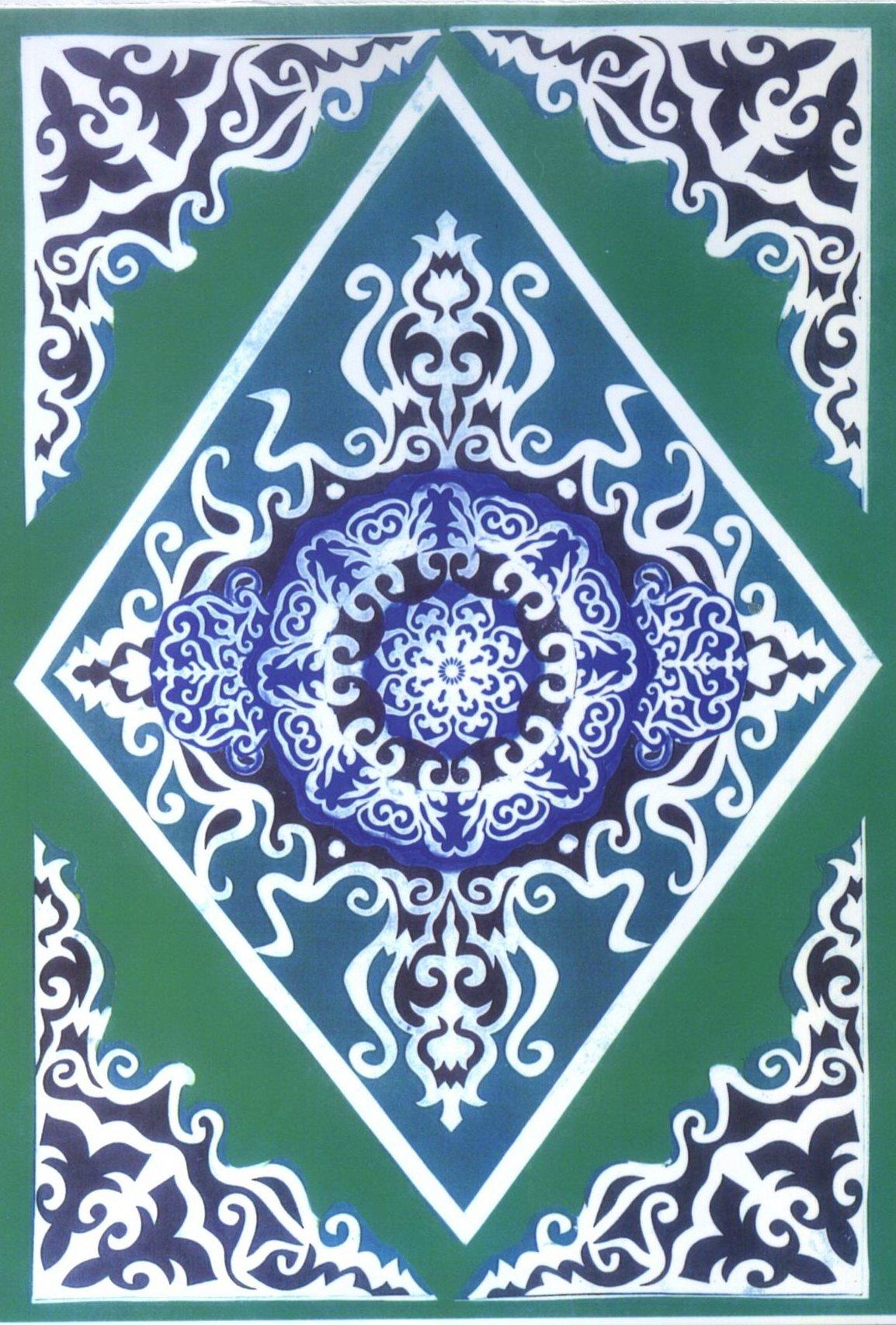 Картинки казахско национального орнамента
