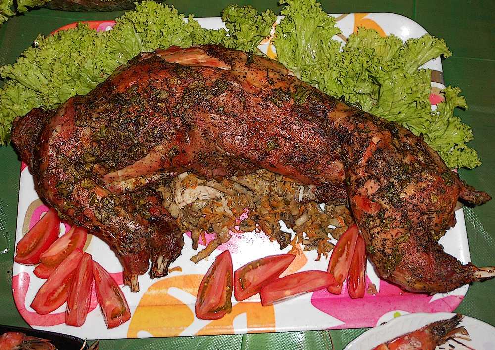 Кролик запеченный в духовке рецепты кролика запеченного