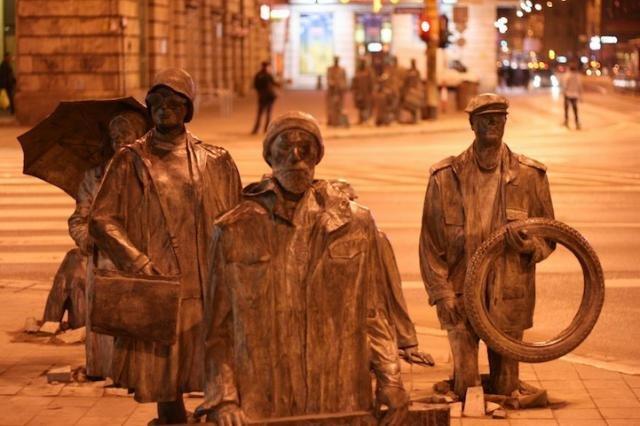 Памятник жертвам военного положения. Вроцлав.