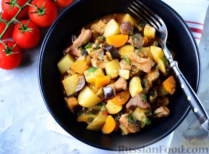 Рецепты вторых блюд мясом 83
