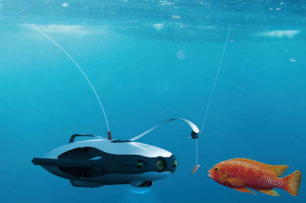 PowerRay подводный дрон