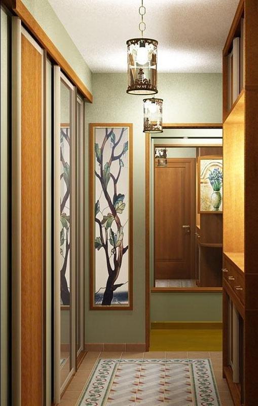 """Красивый дизайн маленького коридора"""" - карточка пользователя."""
