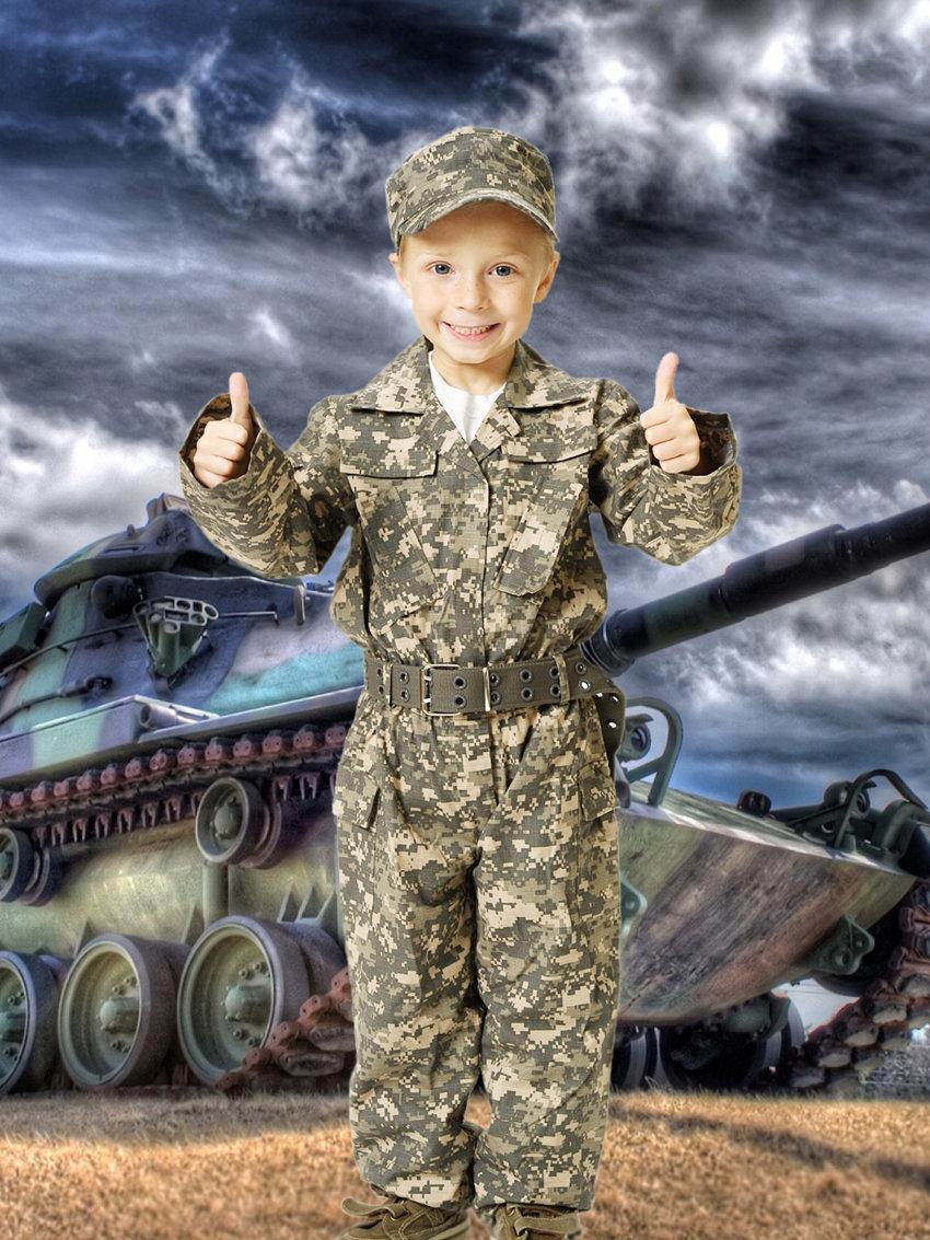 Отдых природе, картинка танкисты военные для детей