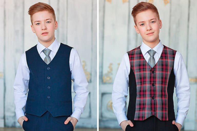 стильная школьная форма для мальчиков