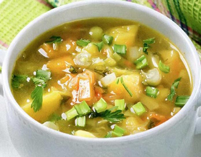 капуста морковь лук картошка суп