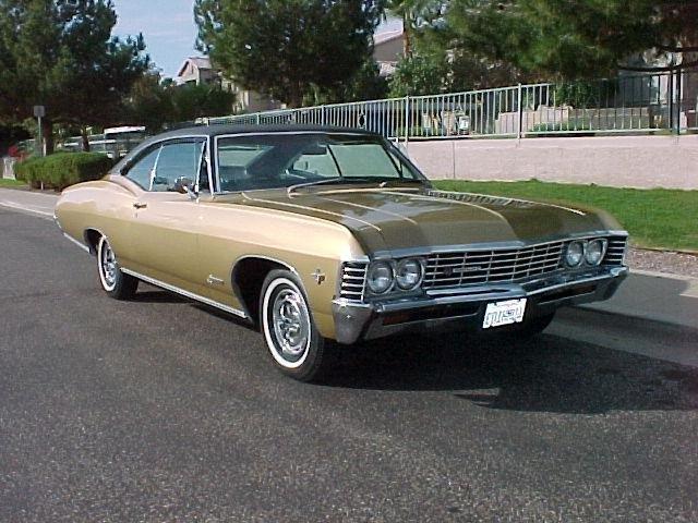 chevrolet impala 1967-ого года