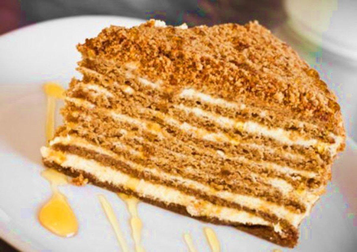 рецепт торта медовик в мультиварке видео