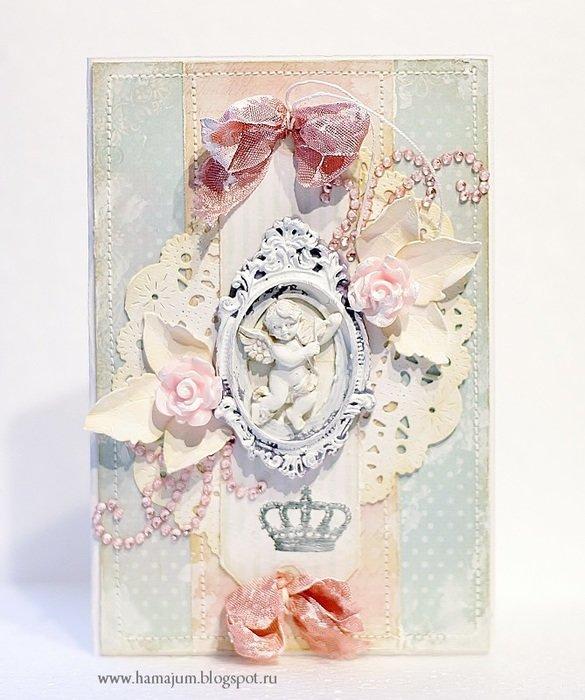 Скрап открытки с ангелами, картинки лошара