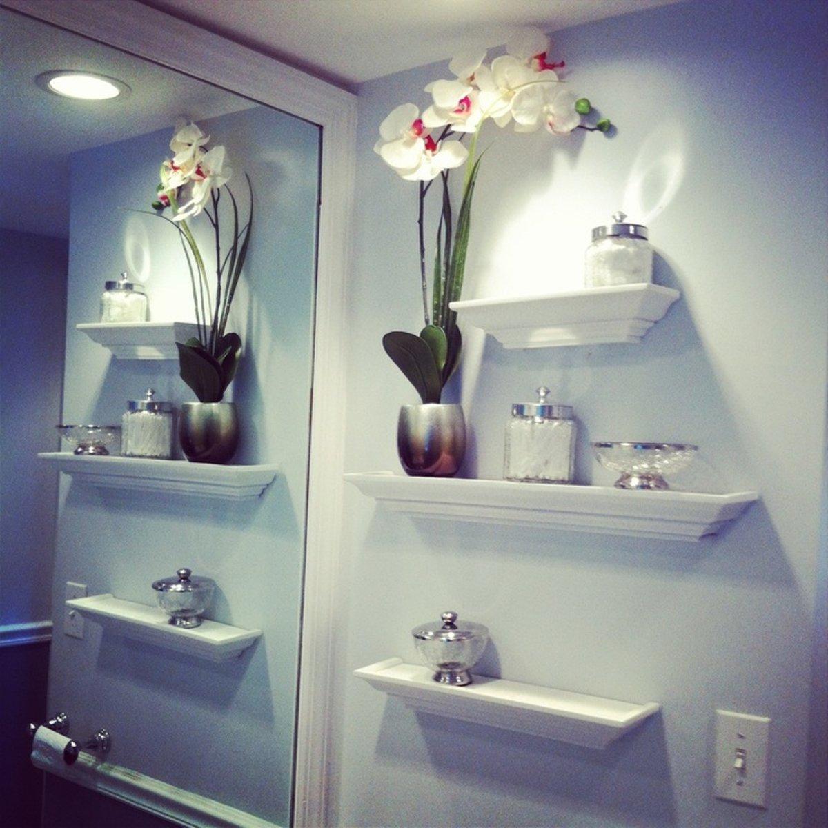 Картинки полочки для ванной комнаты
