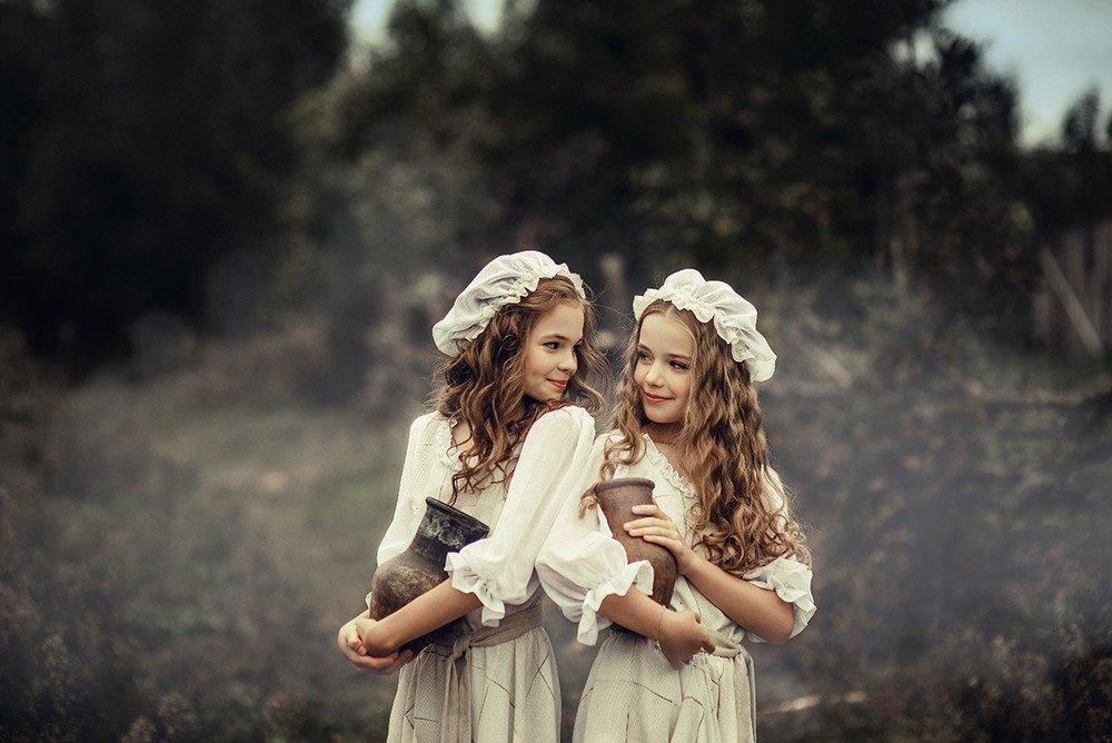 Картинки 2 сестренки