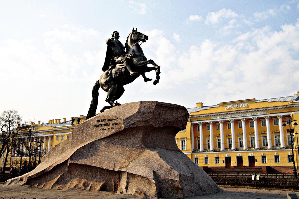 Памятник Петру Великому. Медный всадник
