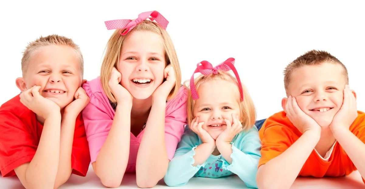 Веселые детки картинка