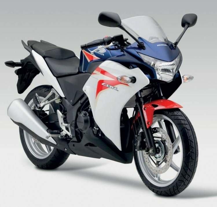 параметры мотоцикла honda cbr