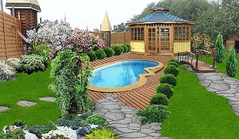 картинки дизайн сада