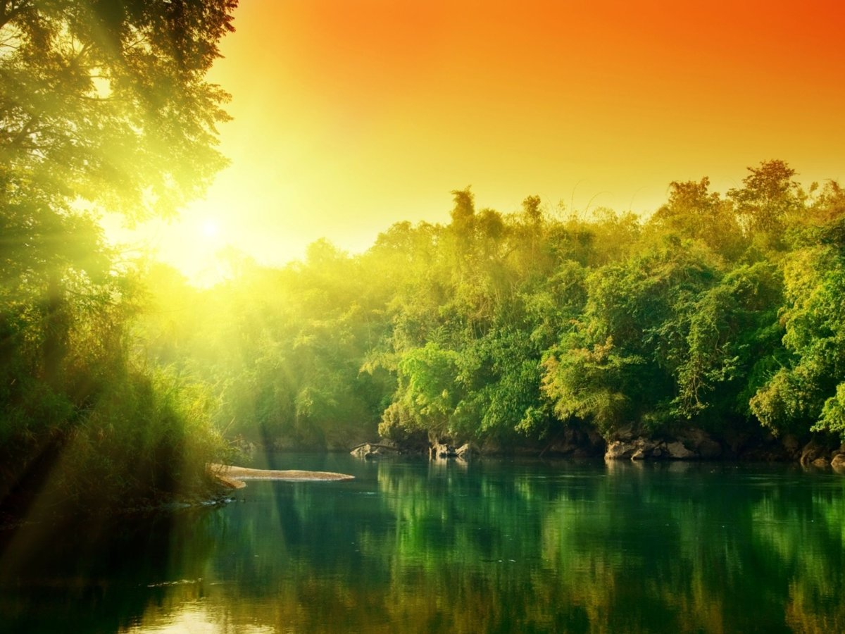 Открытки, открытка природа с добрым утром