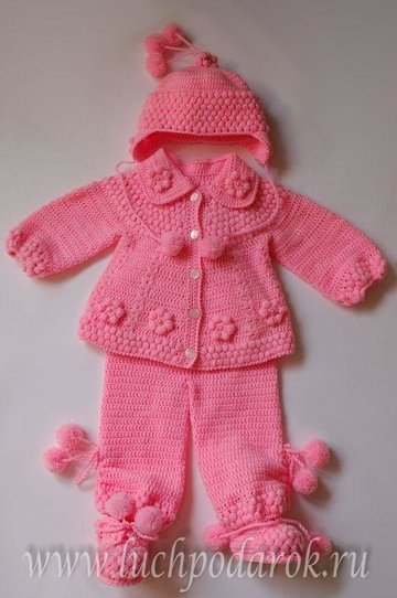 вязание детских костюмов на девочку вязание для детей бесплатные