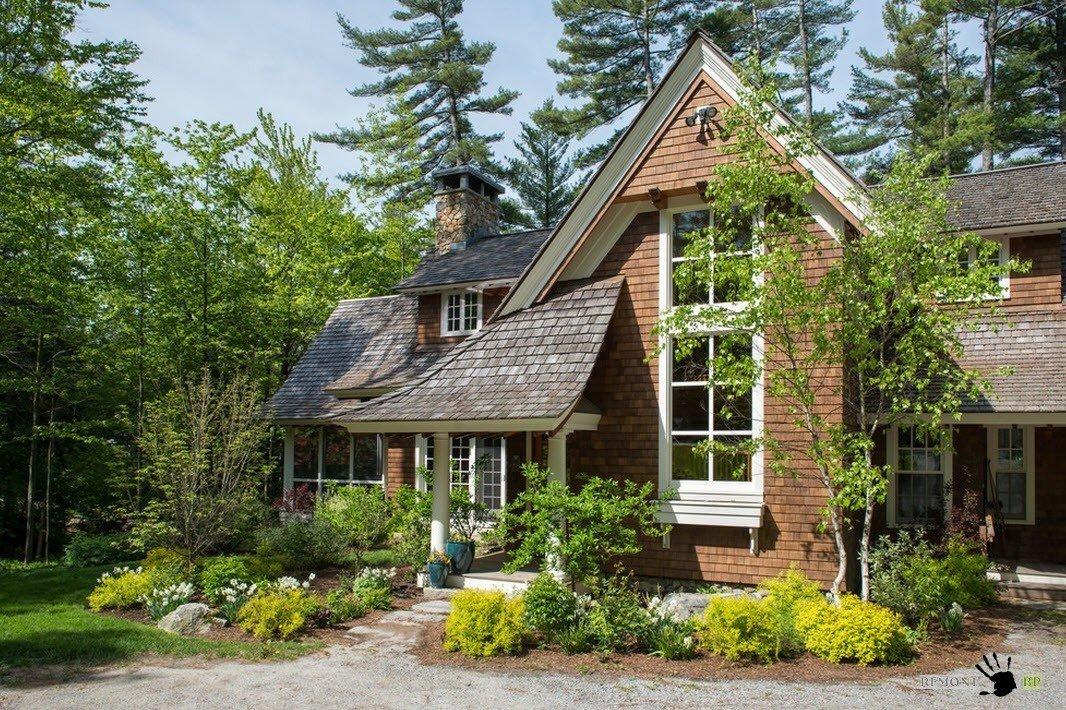 фотографии красивых дачных домов собрали