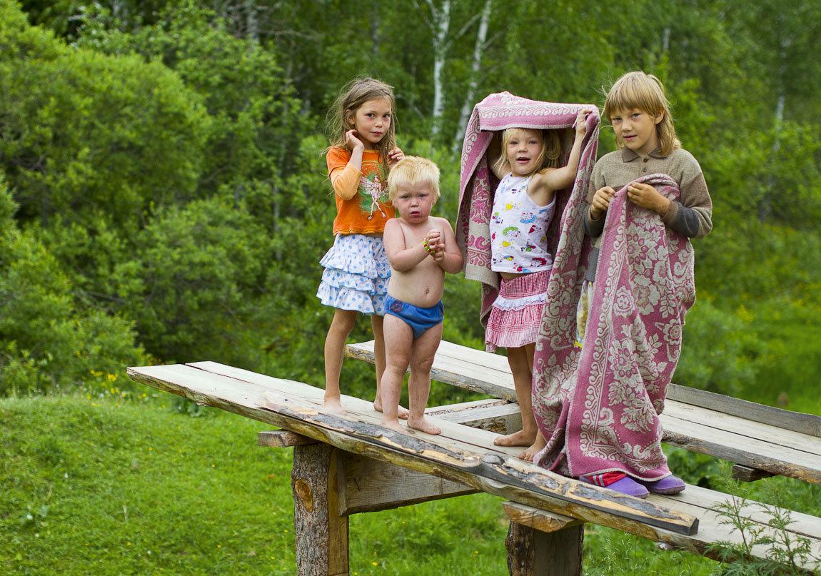 картинки летние каникулы в деревне