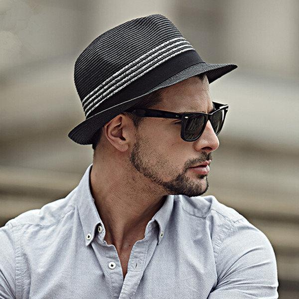 Фото мужчин в шляпе и очках