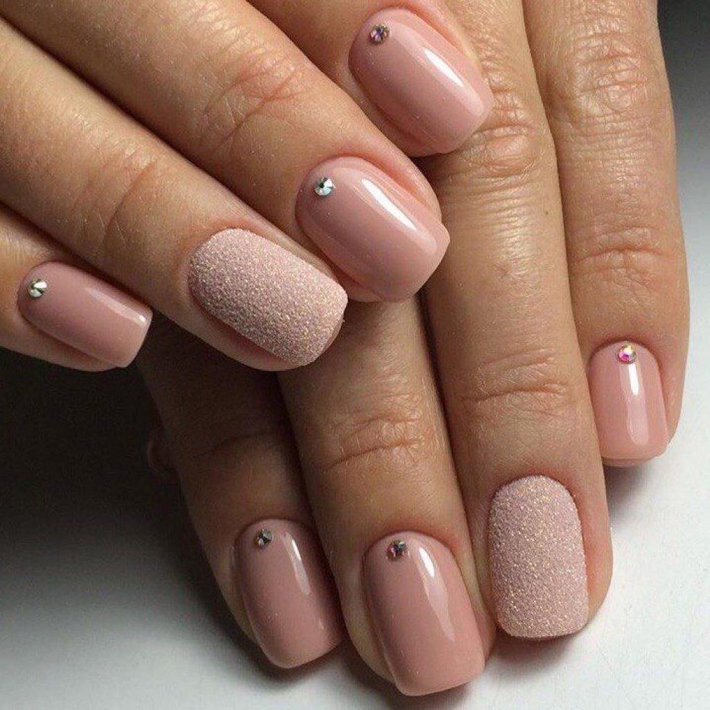 Ногти Простые Без Рисунка