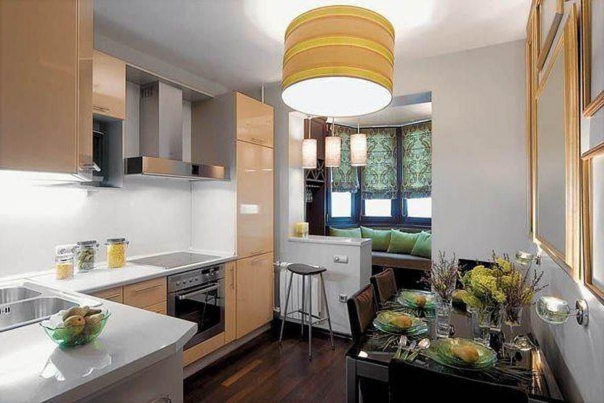 Как совместить кухню с балконом или лоджией. 10 вариантов ди.