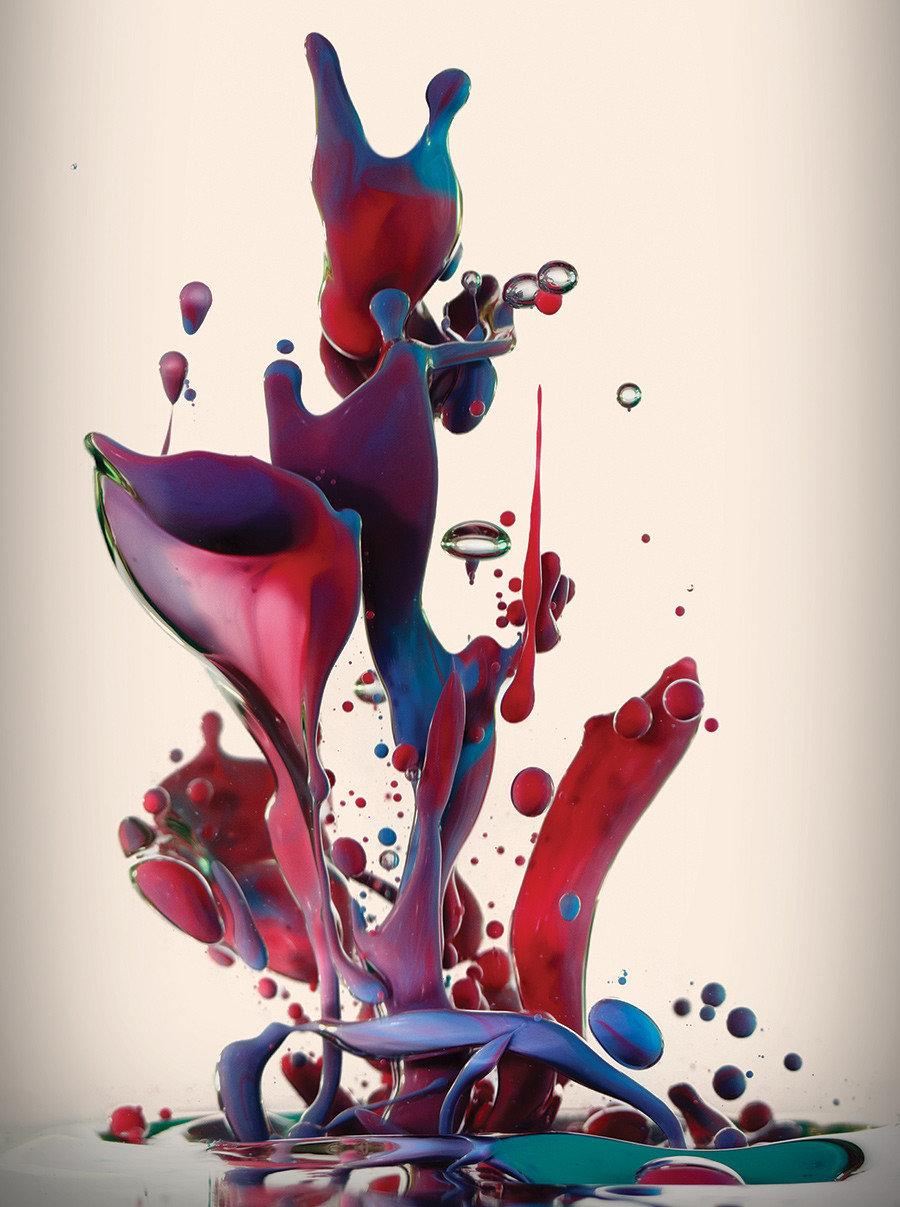 Картинки всплеск красок