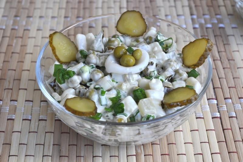 менее, салаты из соленых огурцов рецепты с фото несколько штрихов неожиданно