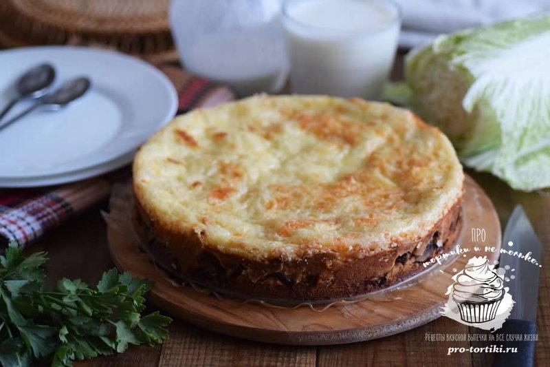 Пироги с капустой рецепт пошаговый с фото