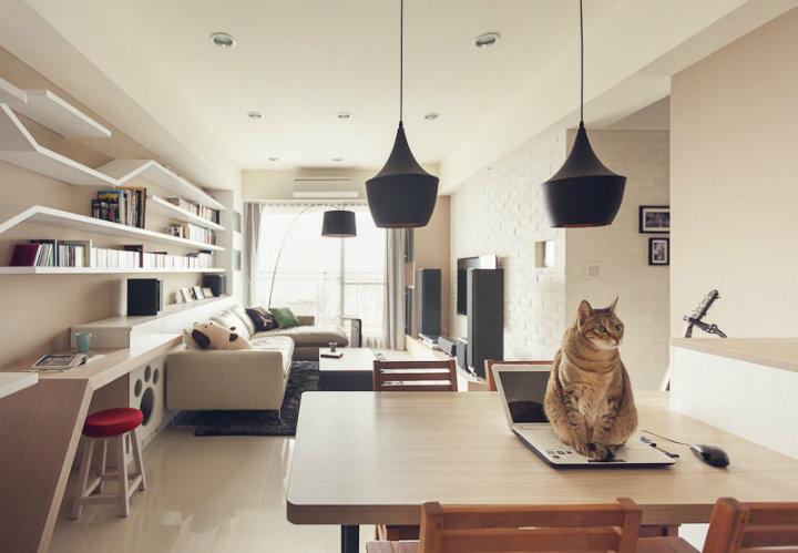 Ремонт в картинках с котами