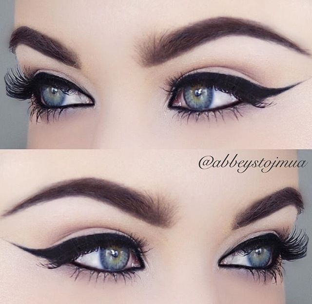 Outrageous Eye Makeup Crafthubs Outrageous Cat Eye Makeup On