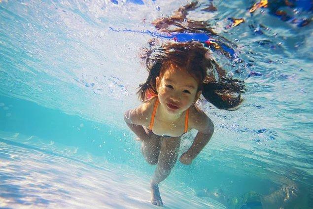 Снимок под водой