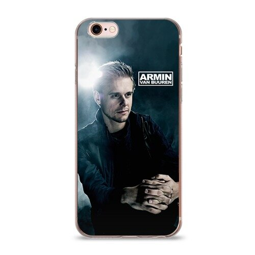 Чехол силиконовый глянцевый ультра тонкий для Телефон Apple iPho Armin Van Buuren
