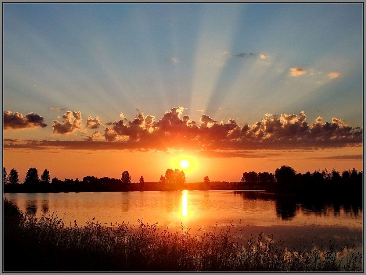 картинка солнечного вечера