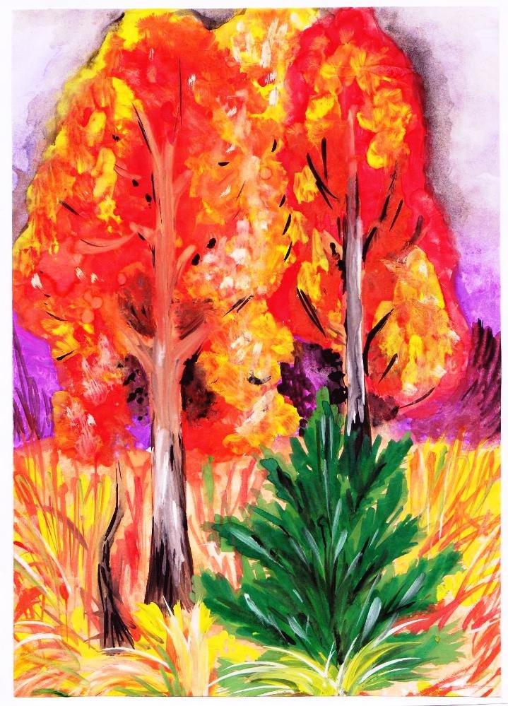 яндекс рисунки осени
