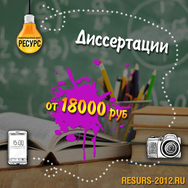 Заказать диссертацию карточка пользователя ИЦ Ресурс в Яндекс  Заказать диссертацию