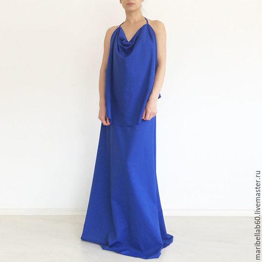 0f710f3ebf0 ... Купить или заказать Синее платье