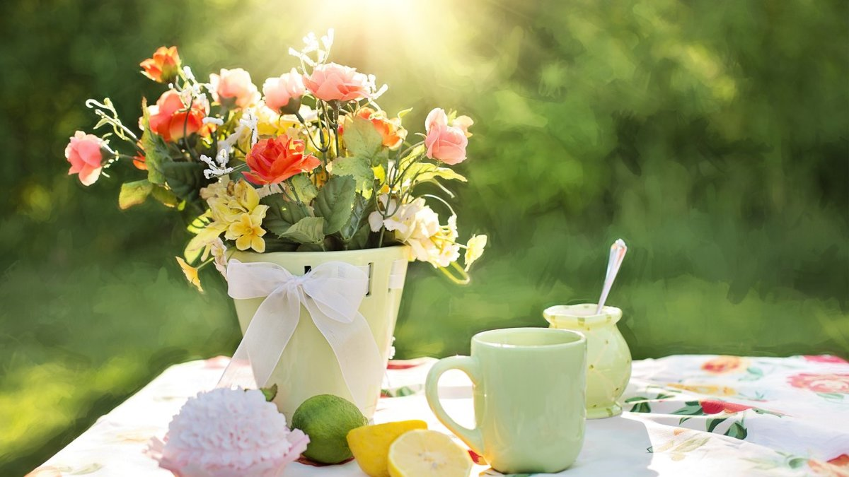 Красивые солнечные картинки доброе утро, летию дня
