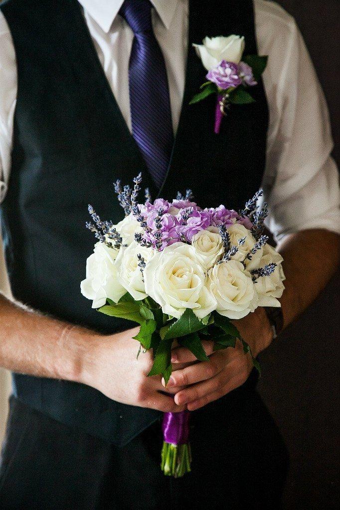 Букет невесты с бутоньеркой, купить