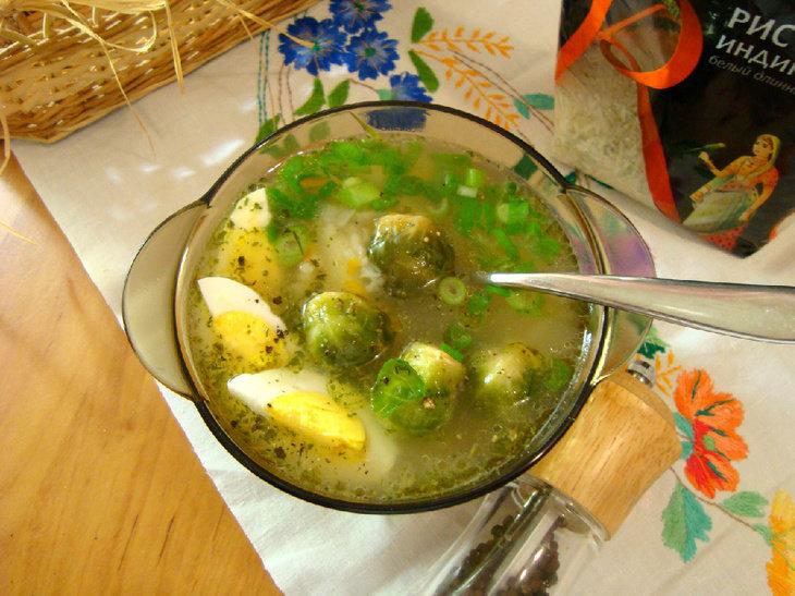 супы с брюссельской капустой самые сексуальные
