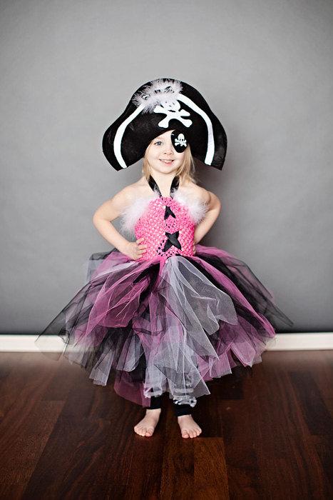 Костюм для девочки пирата