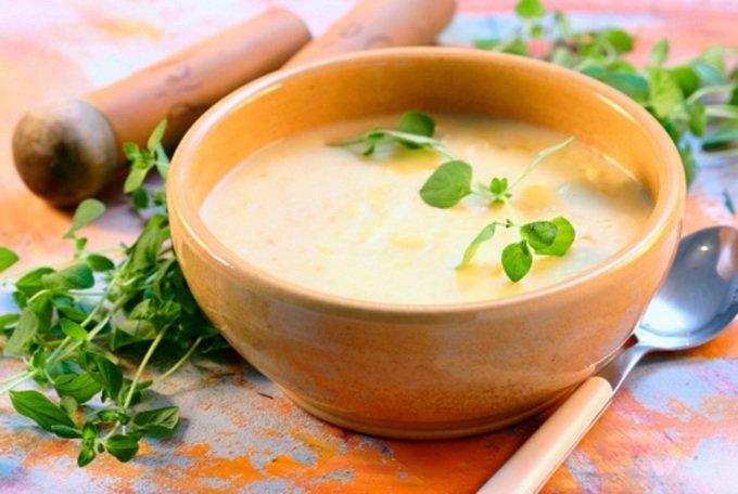 картофельный суп пюре с курицей рецепт с фото