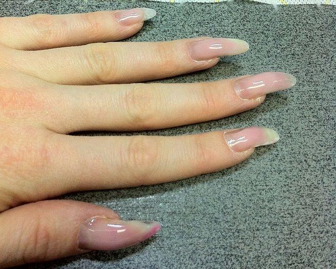 Модные миндалевидные ногти : дизайн миндалевидных 42