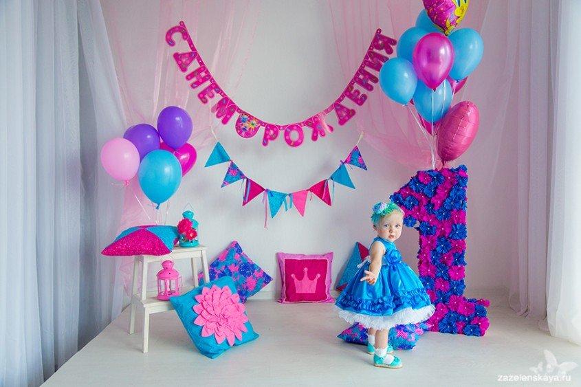 Украшения украшна на день рождения 1 год
